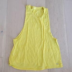 Alo Yellow Tank